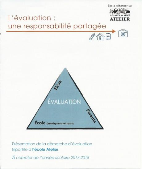 L'évalutation - une responsabilité partagée